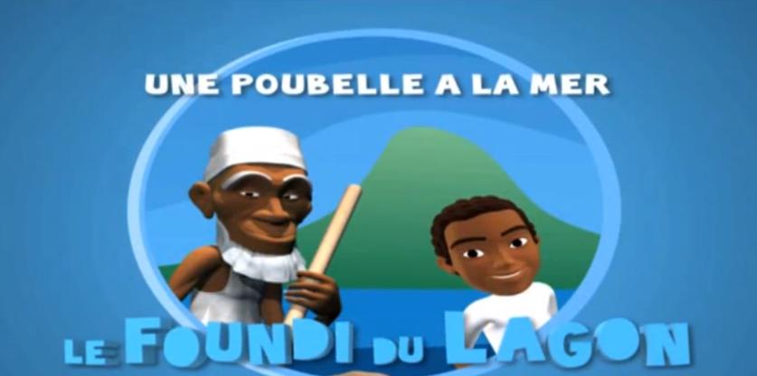 Le Foundi Du Lagon «Ep.5″_ Une poubelle à la mer