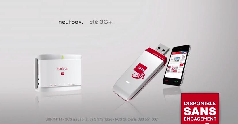 Publicité / Offre haut débit / SFR