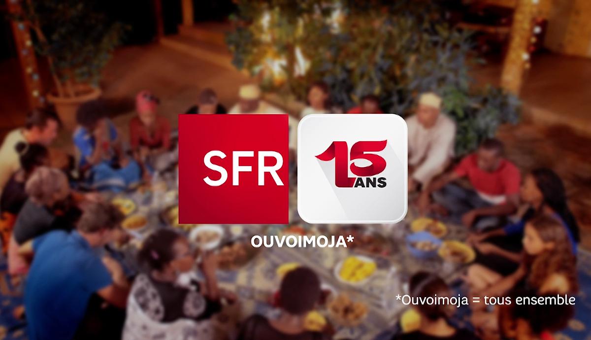 SPOT TV SFR-Déjà 15 ans à Mayotte